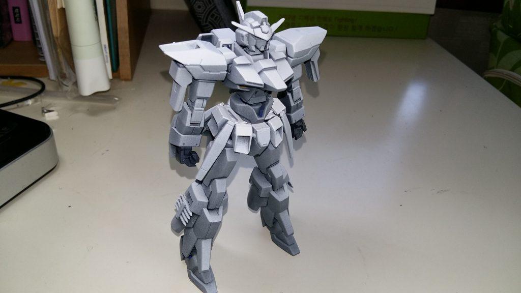 HG Gundam AGE FX 制作工程1