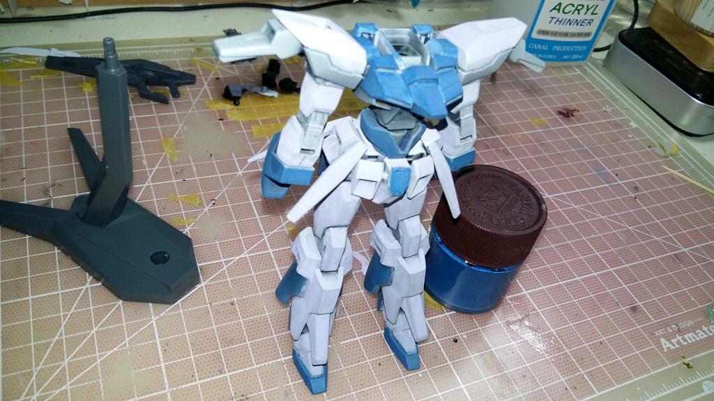 HG Gundam AGE FX 制作工程3