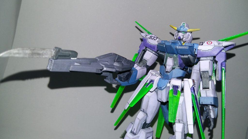 HG Gundam AGE FX アピールショット2