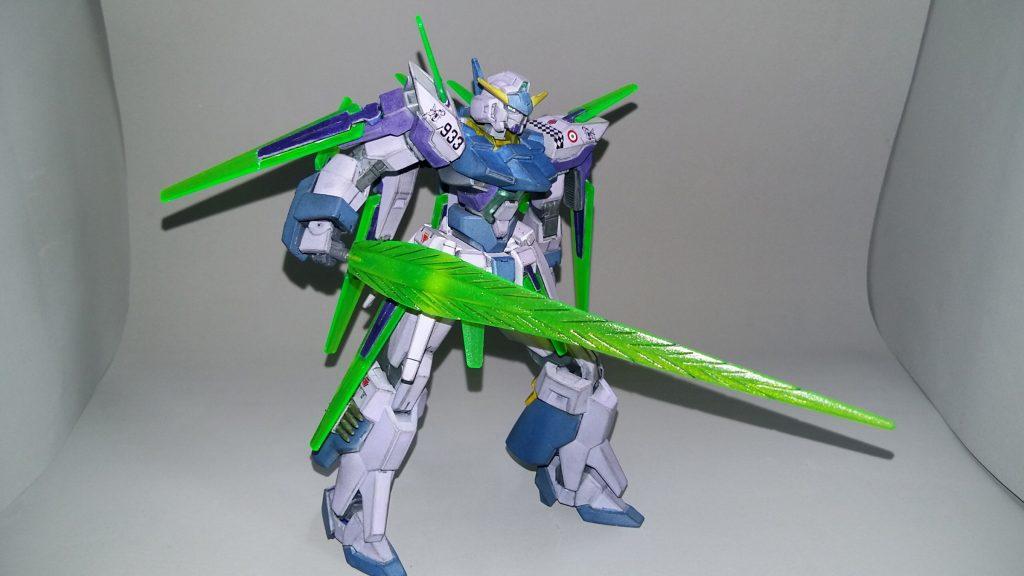 HG Gundam AGE FX アピールショット3
