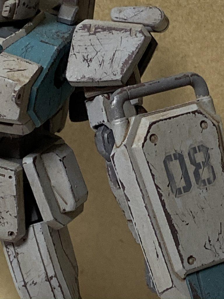 ガンダムEz8 RX-79(G) 制作工程2