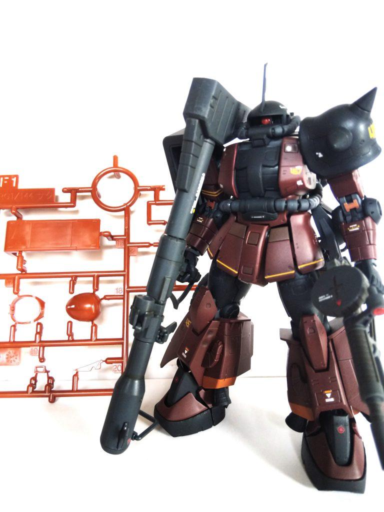 ギャビー・ハザード専用ザクII アピールショット1