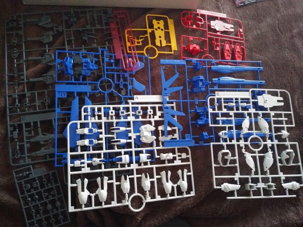HG GAT-X105B/FP ビルドストライクガンダム・フルパッケージ 制作工程1
