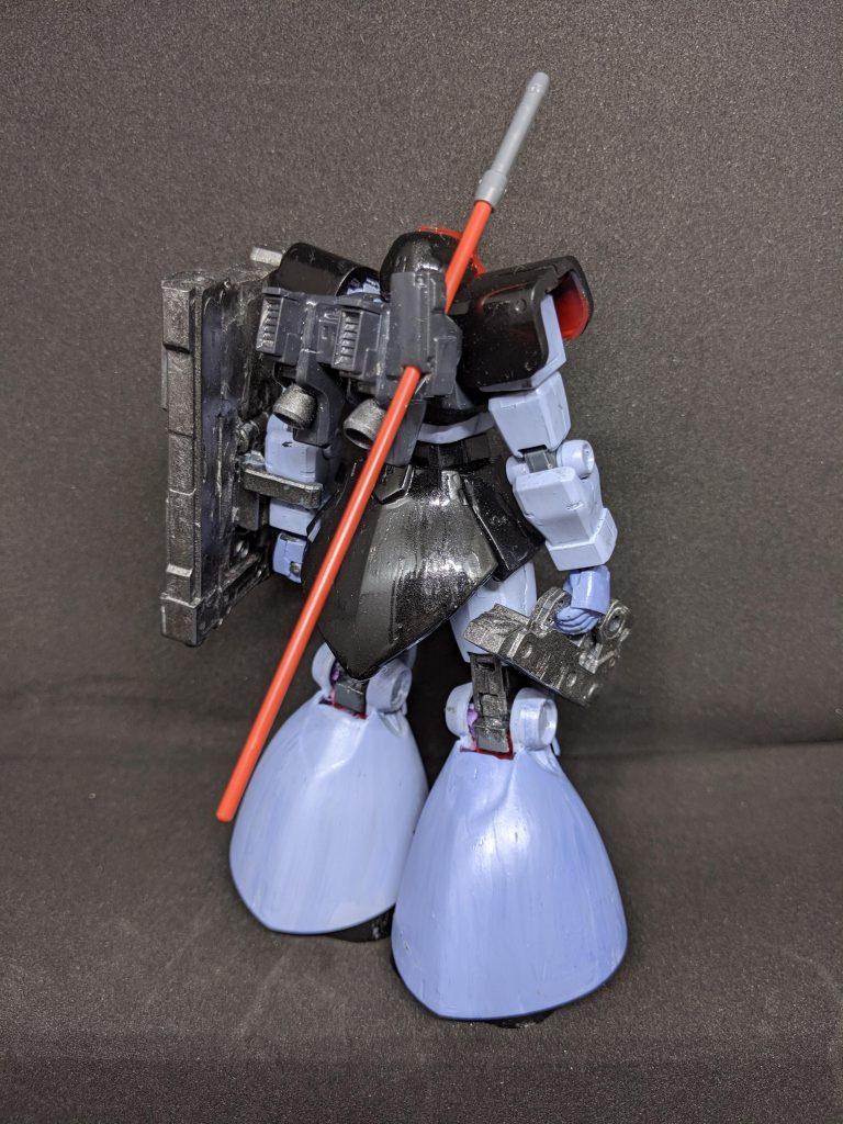 高機動実験型リックドム(プロトタイプギャン) アピールショット1