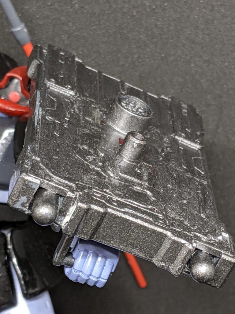 高機動実験型リックドム(プロトタイプギャン) 制作工程1