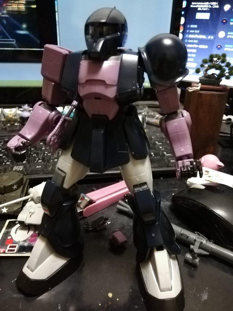 MGザクⅠ 制作工程3