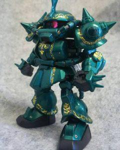 SDクロスシルエットドズル専用ザクⅡ