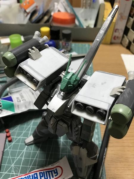 スタークジェガン(明貴美加Ver.) 制作工程3