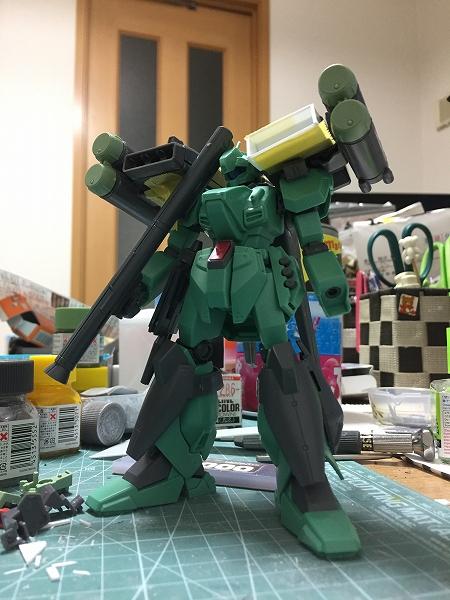 スタークジェガン(明貴美加Ver.) 制作工程1