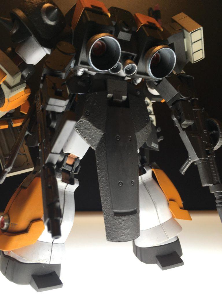 スーパーカスタムザクF2000 制作工程4
