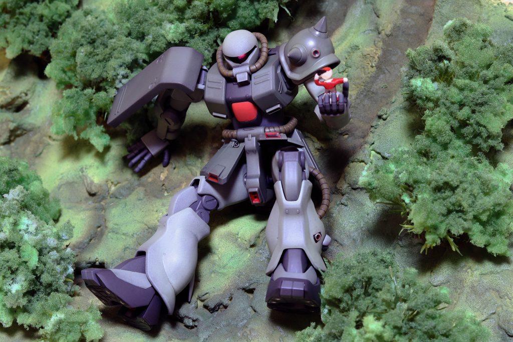 ザクII改(ポケットの中の戦争) アピールショット1