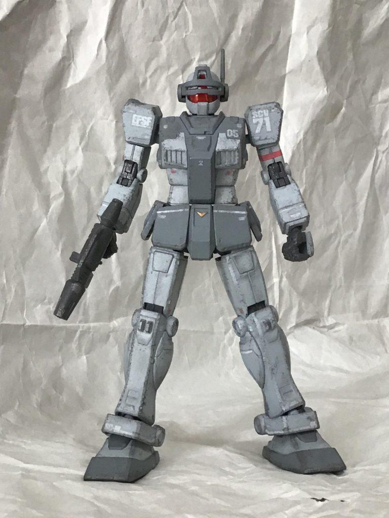ジムインターセプトカスタム(K型ライフル・N型シールド装備) アピールショット3