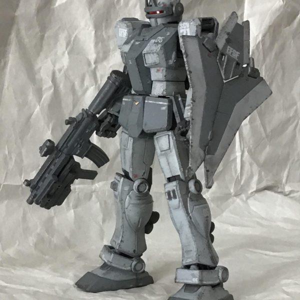 ジムインターセプトカスタム(K型ライフル・N型シールド装備)