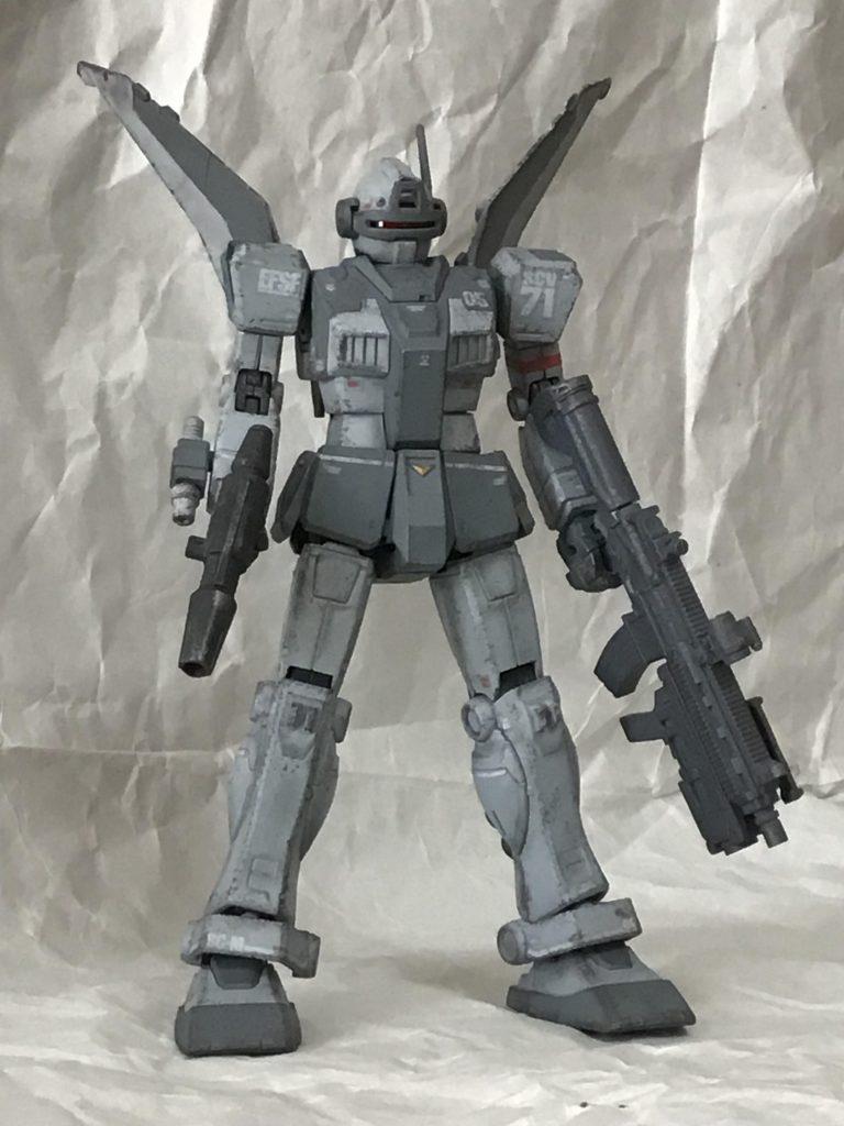 ジムインターセプトカスタム(K型ライフル・N型シールド装備) アピールショット1