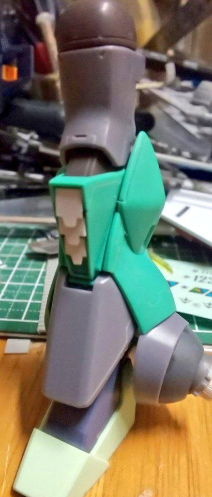 """MSK-008Ⅱ ディジェⅡ""""D2″ 制作工程3"""