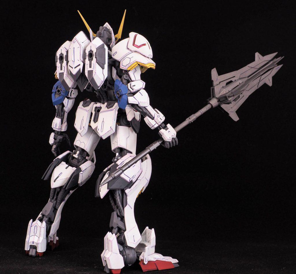 MG ガンダムバルバトス(一期ED冒頭イメージVer) アピールショット4