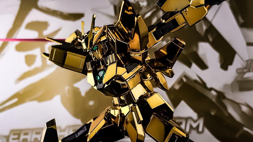 アースリィガンダム(Gold Coating) アピールショット2
