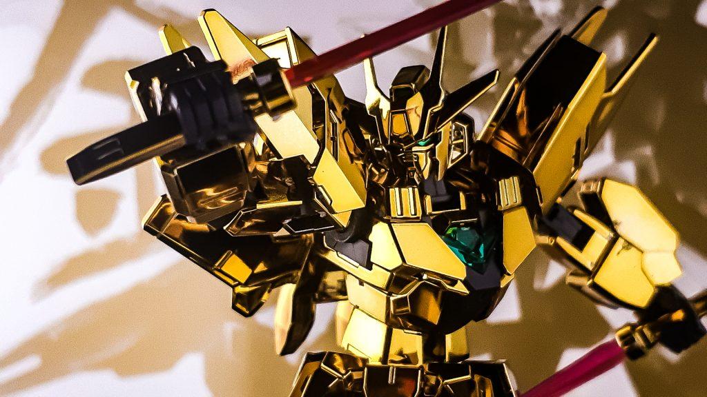 アースリィガンダム(Gold Coating) 制作工程1