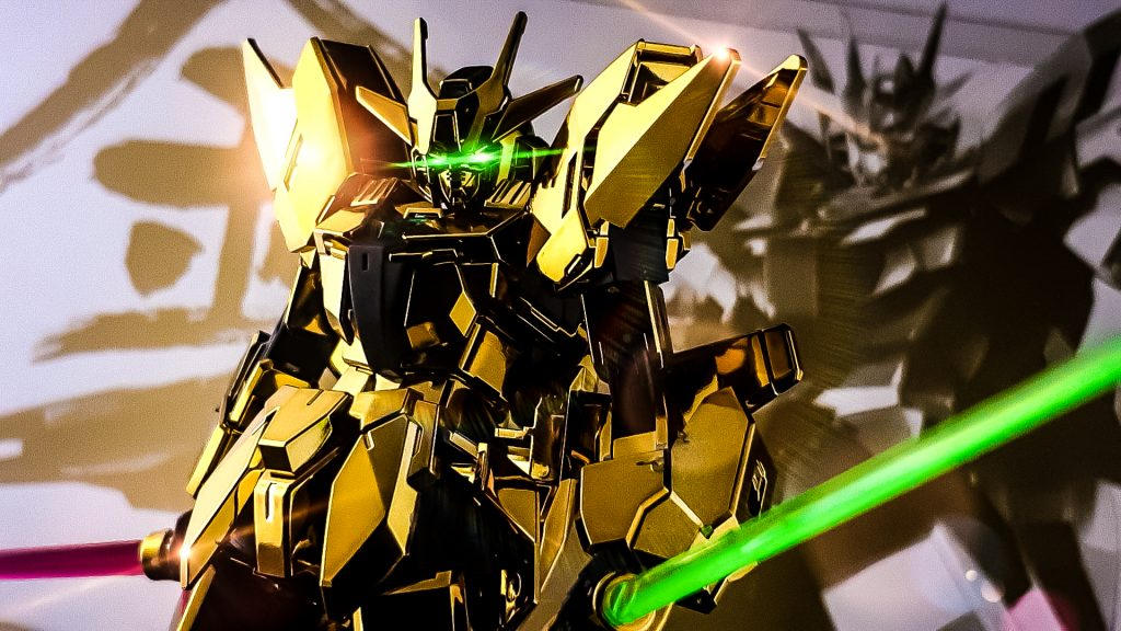 アースリィガンダム(Gold Coating) アピールショット3