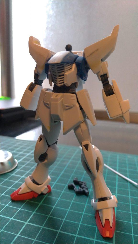ガンダムF91 制作工程4