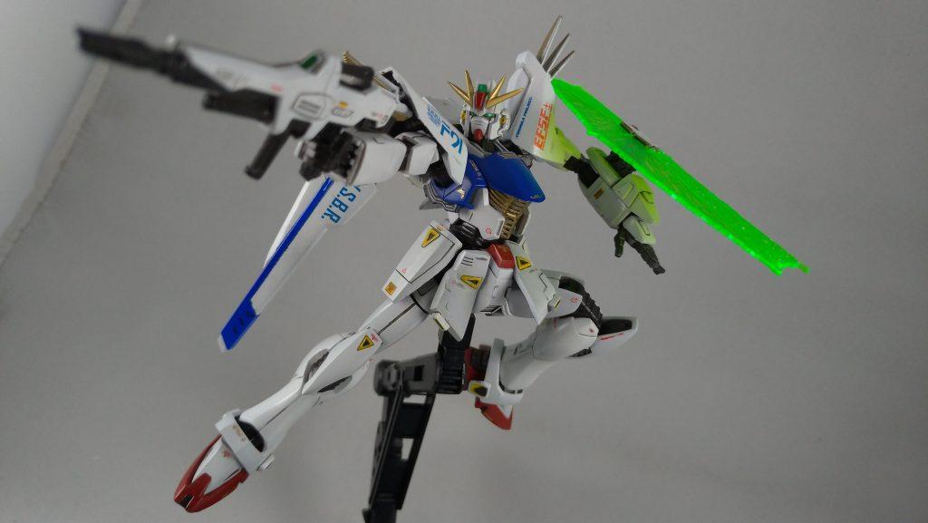 ガンダムF91 アピールショット1