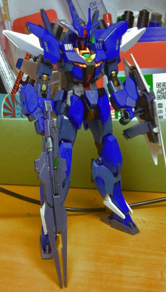 コアガンダムMk-2ver.(ティターンズ使用) アピールショット4
