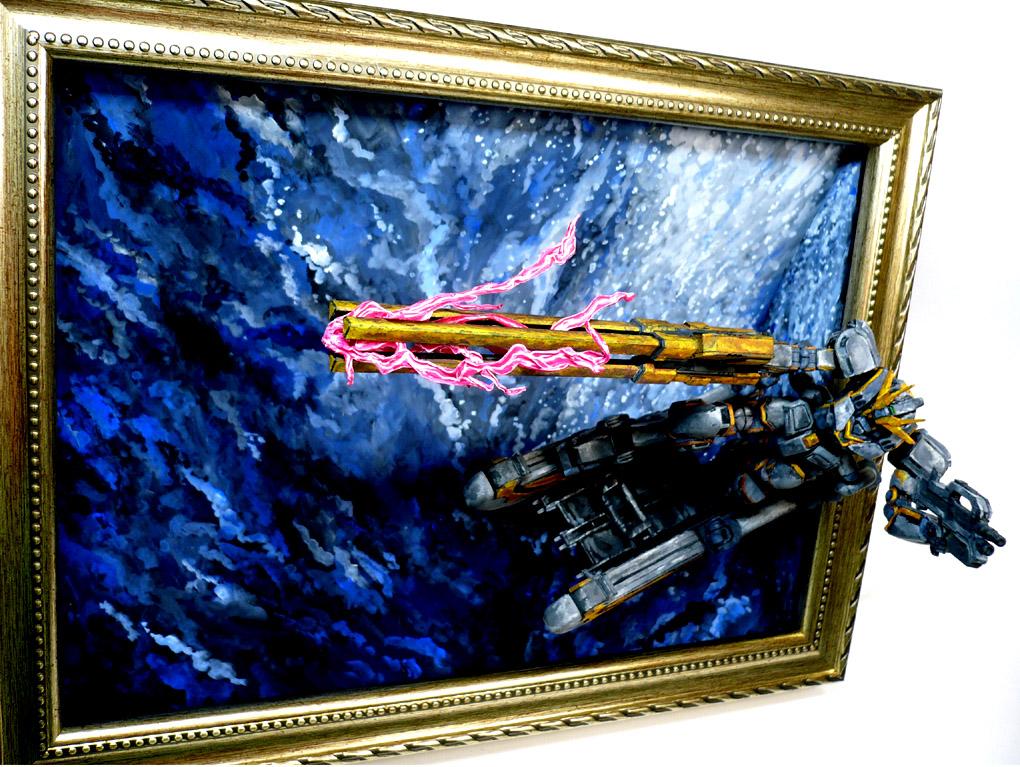 コア[トラス]ガンダム 絵画塗装 アピールショット6