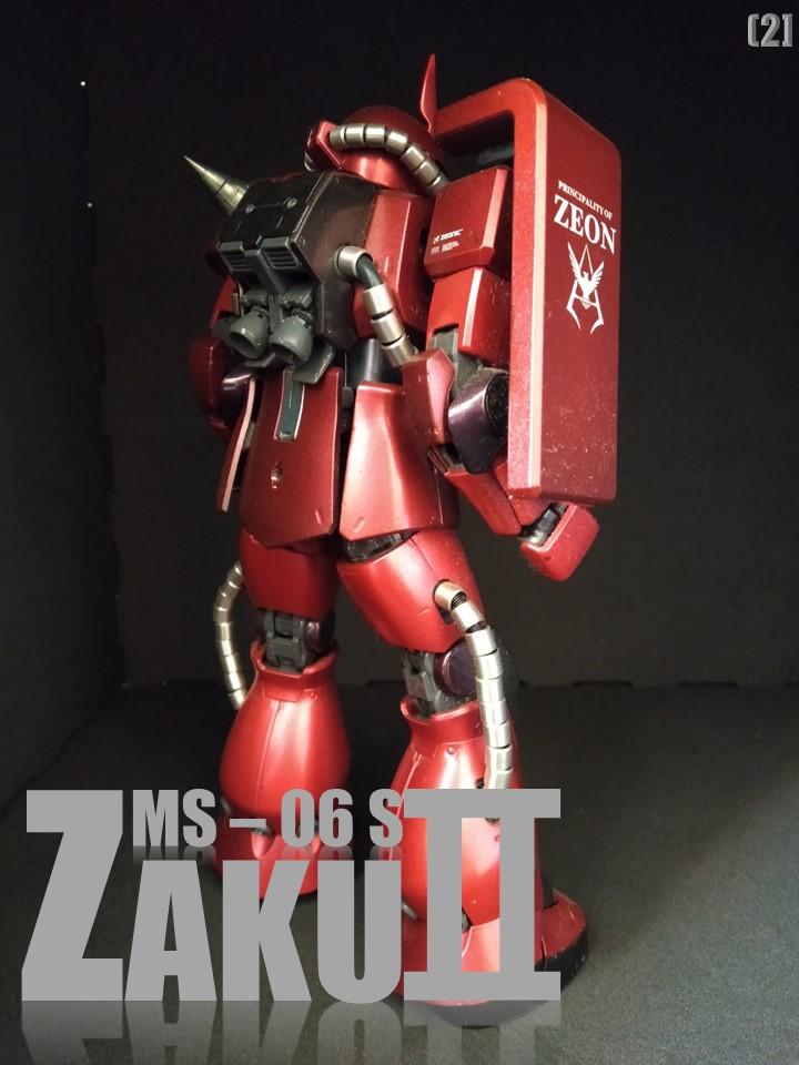 MS-06S ZAKUⅡ No1 アピールショット2