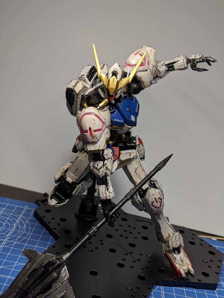 MG ガンダムバルバトス アピールショット3