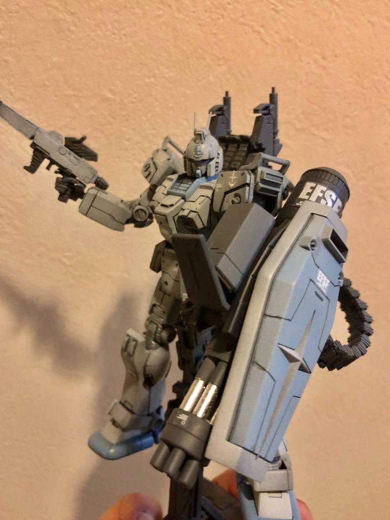 陸戦ガンダムS型 ガトリング装備 アピールショット2