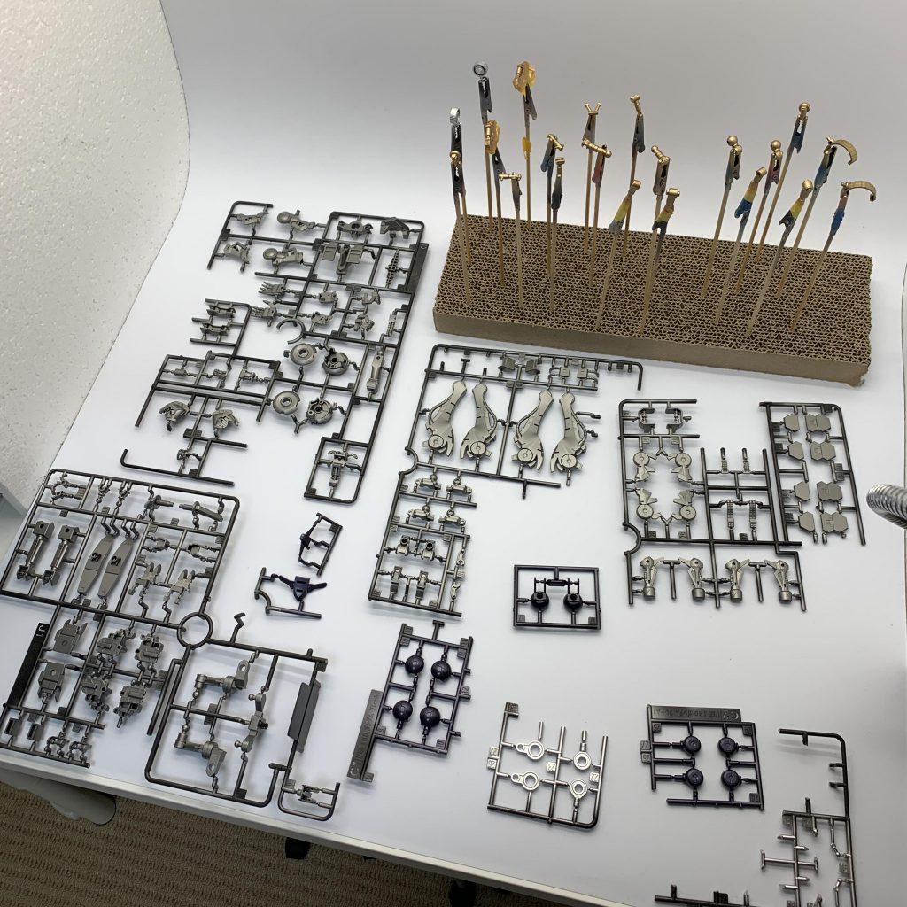 1/100 ガンダムバルバトス第6形態 制作工程1