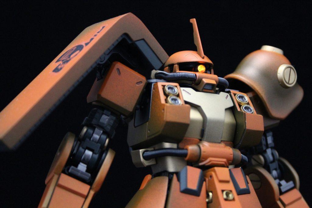 PSYCHO ZAKU Mk-Ⅱ  Daryl Lorentz's custom アピールショット6