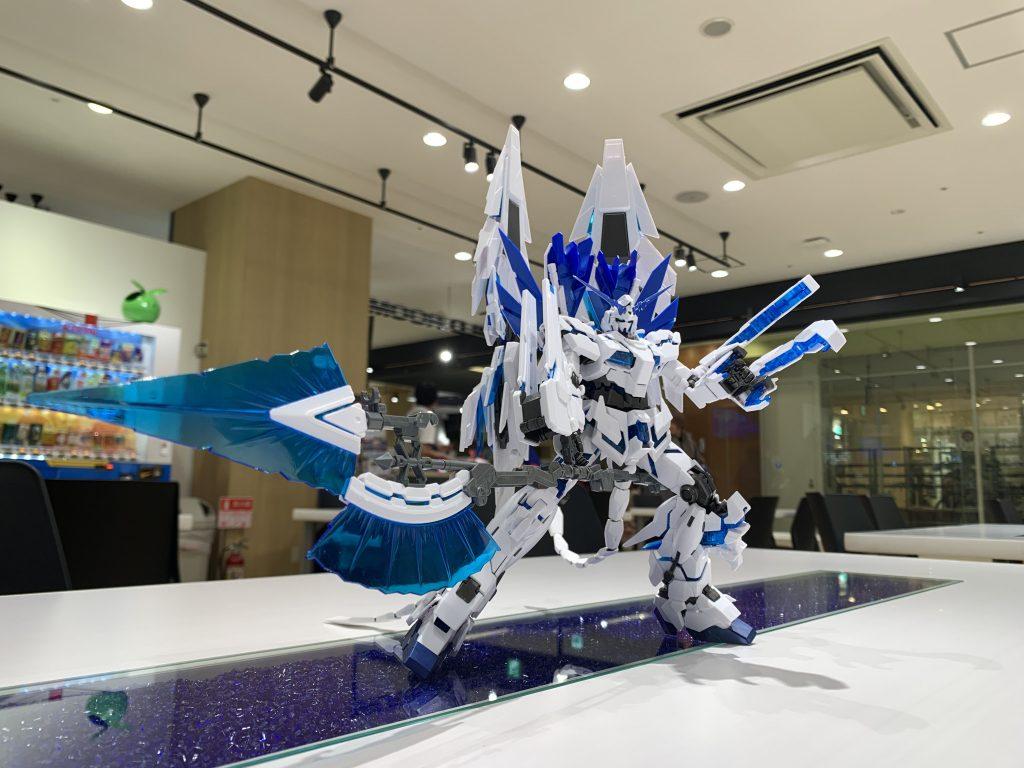 RX-0 ユニコーンガンダム ペルフェクティビリティ アピールショット4