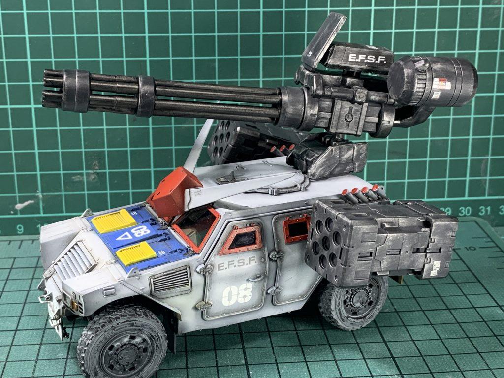連邦軍!対モビルスーツ新型兵器! 制作工程4