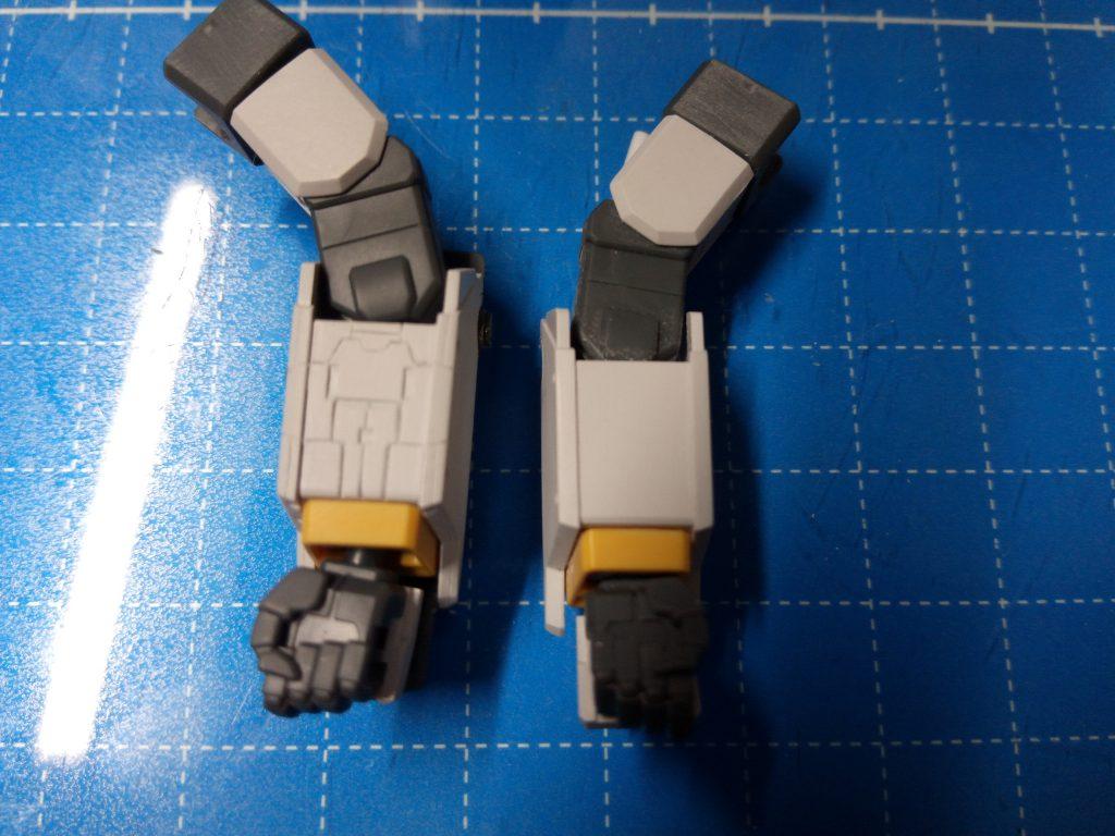 1/144 HGUC RX-78-6 GUNDAM G06 MUDROCK ガンダム6号機「マドロック」 制作工程3