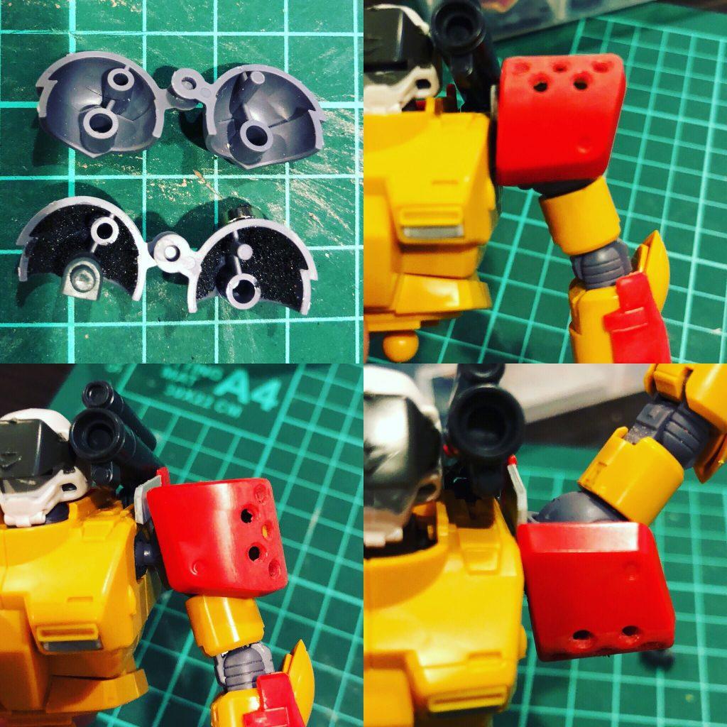 量産型ガンキャノン ミキシング 制作工程4