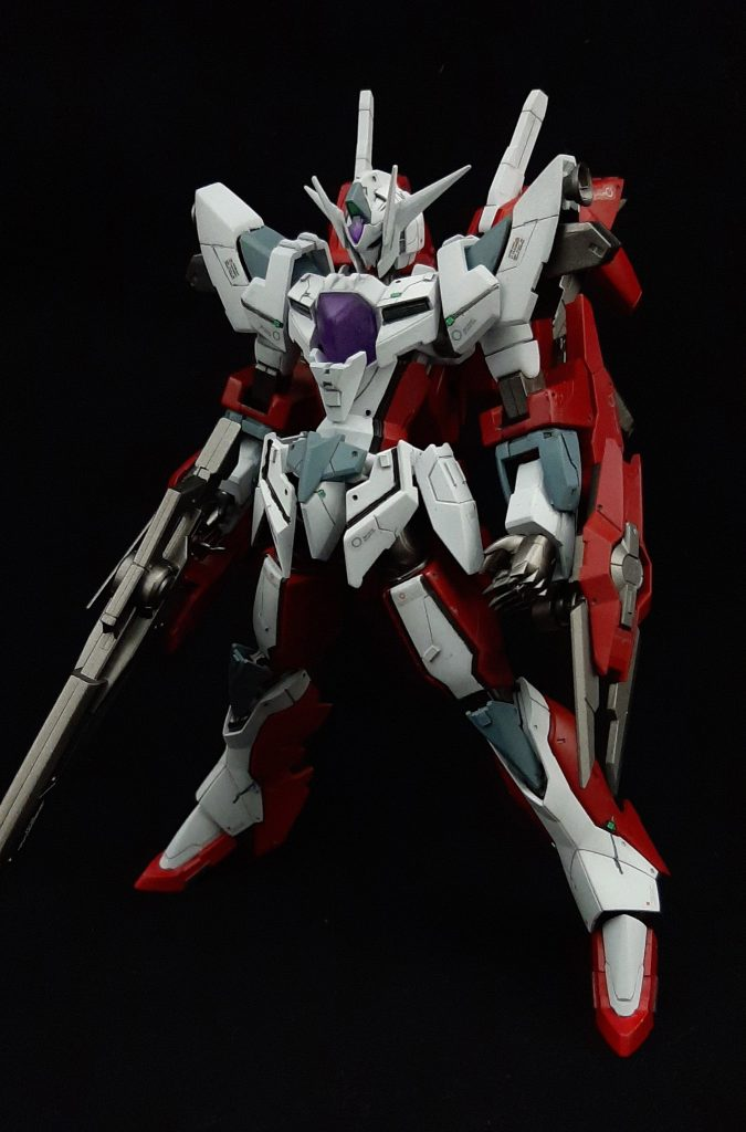 Reborns Gundam Custom アピールショット1