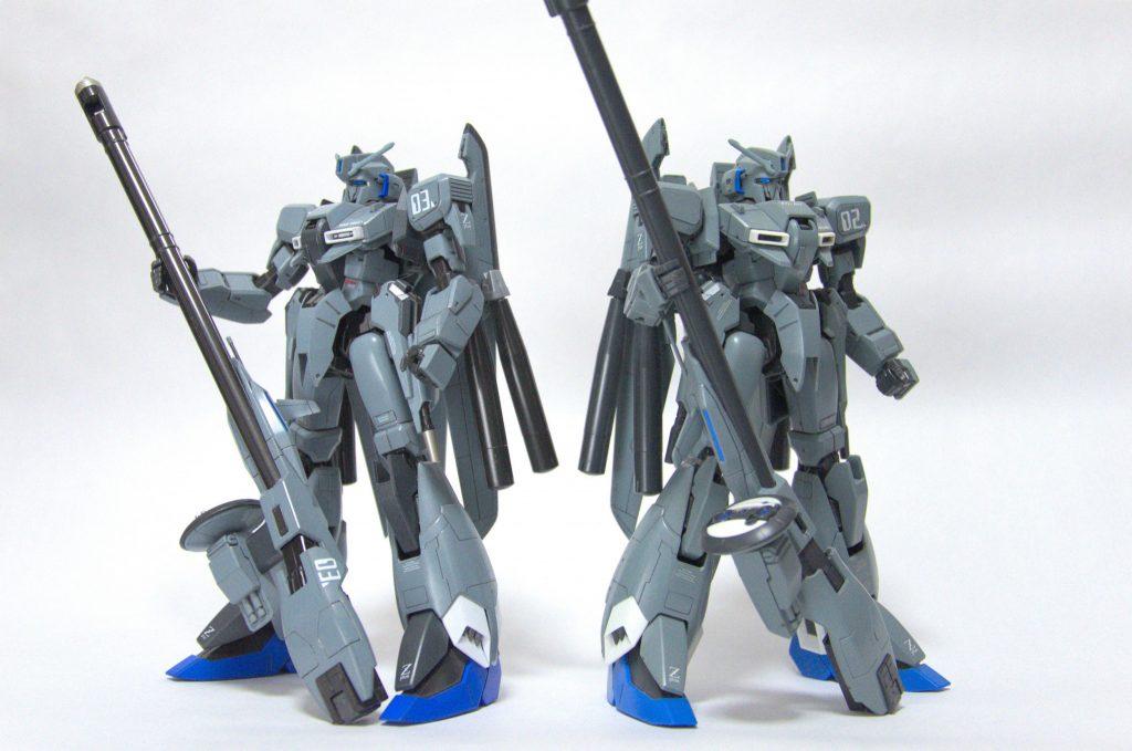 MG ゼータプラスC1 制作工程2