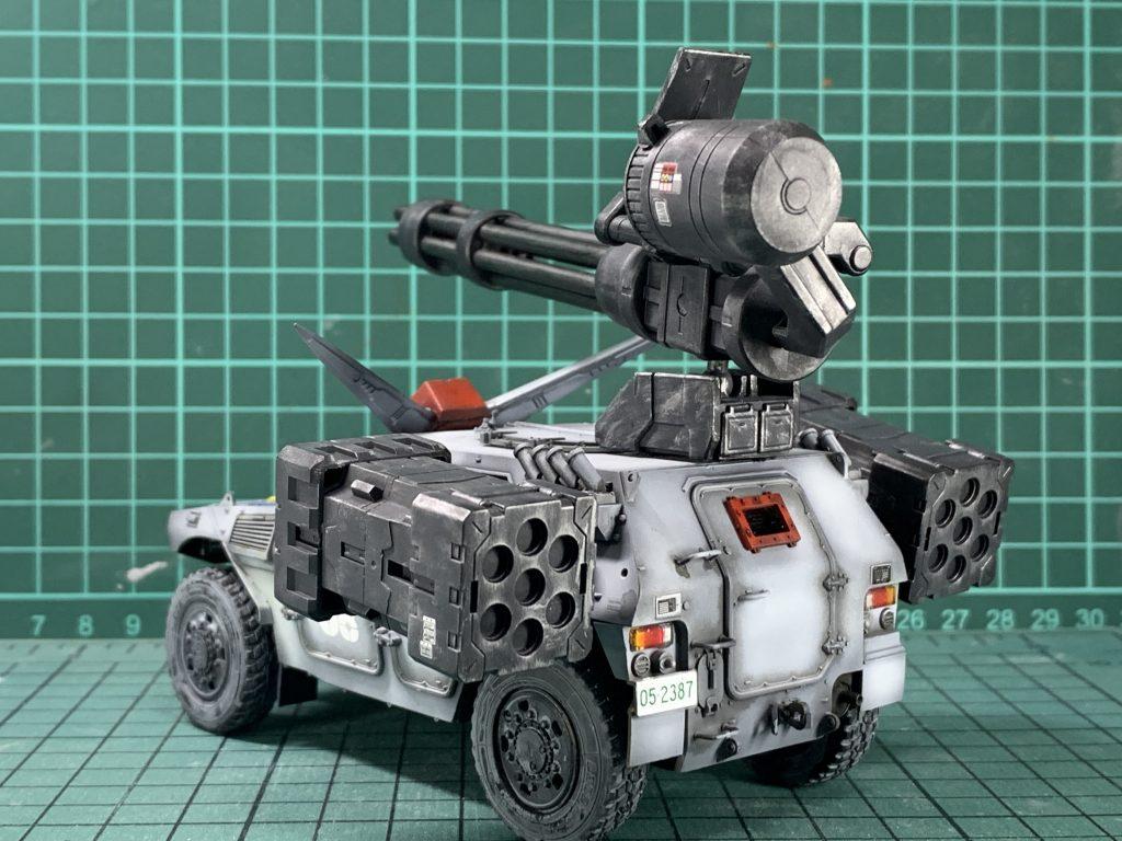 連邦軍!対モビルスーツ新型兵器! 制作工程3