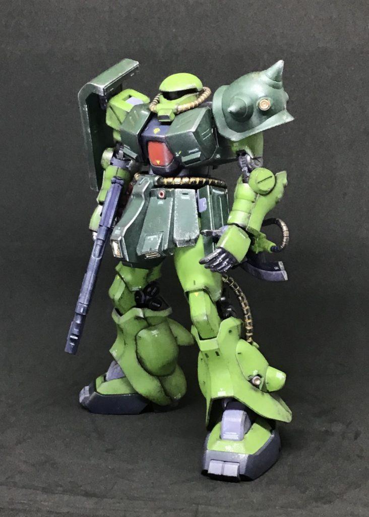 RE/100 ザク改 アピールショット1