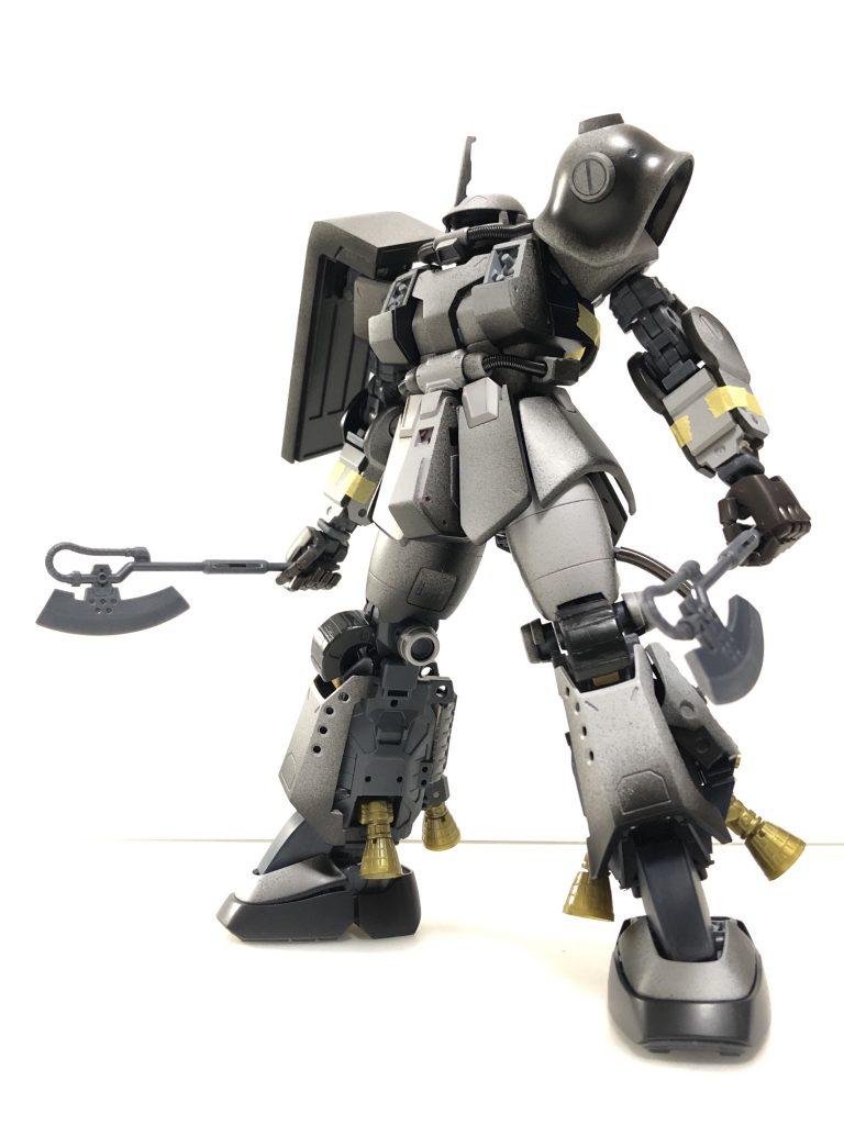 PSYCHO ZAKU Mk-Ⅱ  Daryl Lorentz's custom 制作工程2