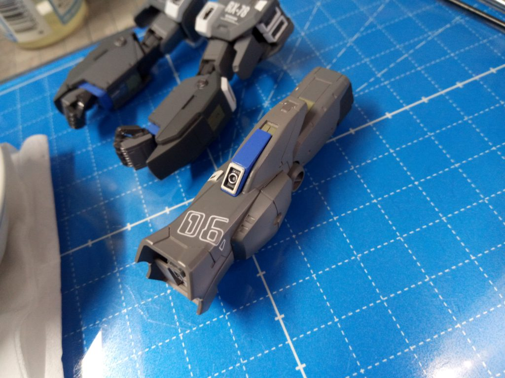 1/144 HGUC RX-78-6 GUNDAM G06 MUDROCK ガンダム6号機「マドロック」 制作工程7