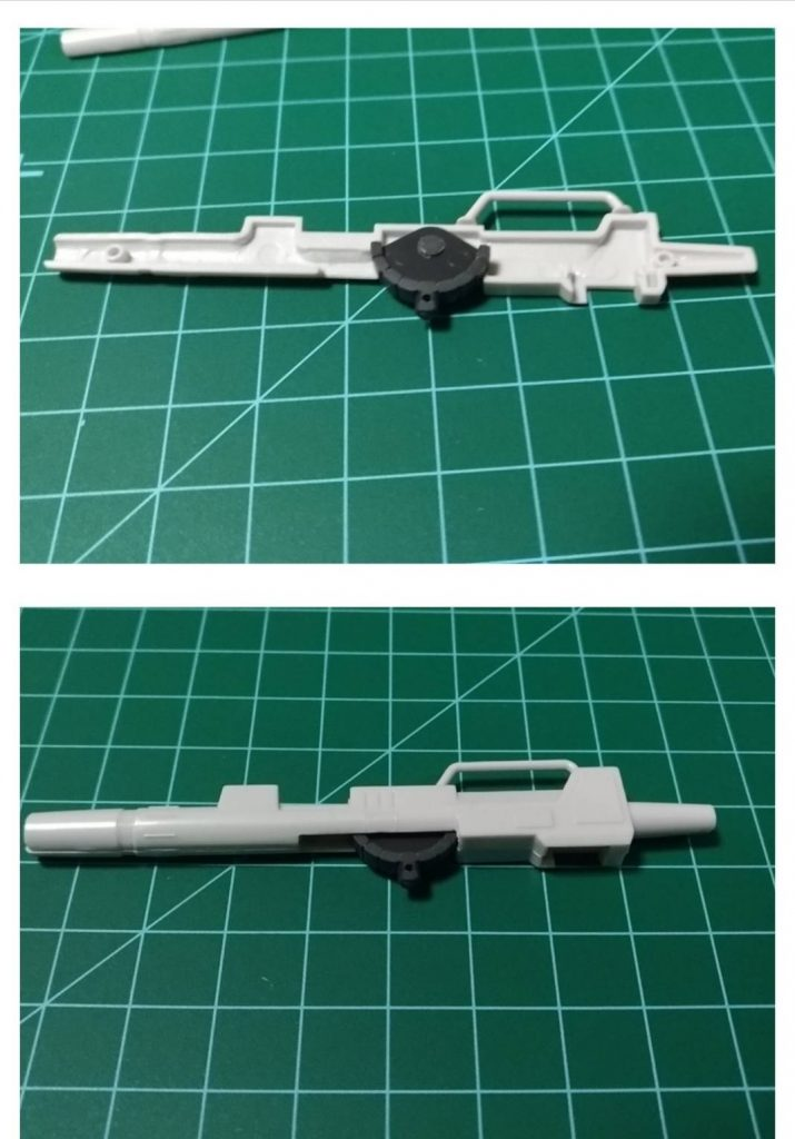 HGジムキャノン(IRG仕様) 制作工程5