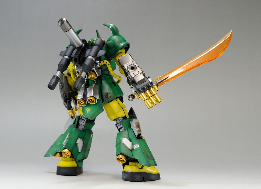 [雑誌賞受賞作品][HGBF] グフR35(リアルタイプカラー) アピールショット3