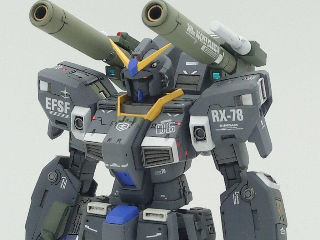 1/144 HGUC RX-78-6 GUNDAM G06 MUDROCK ガンダム6号機「マドロック」 アピールショット3