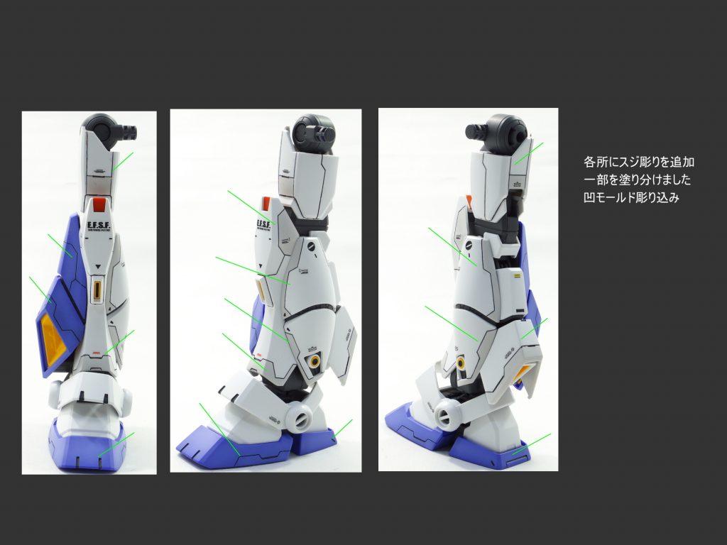 MG ガンダム NT-1 アレックス ver.2.0 制作工程3