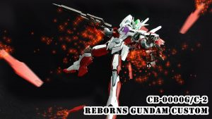 Reborns Gundam Custom