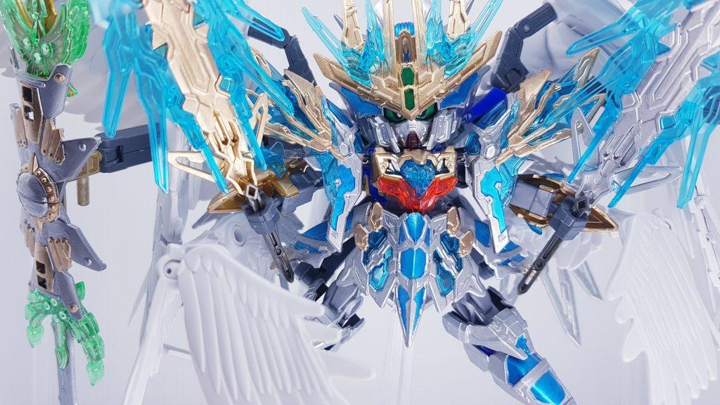 天霸曹操 wing gundam snow white 制作工程2