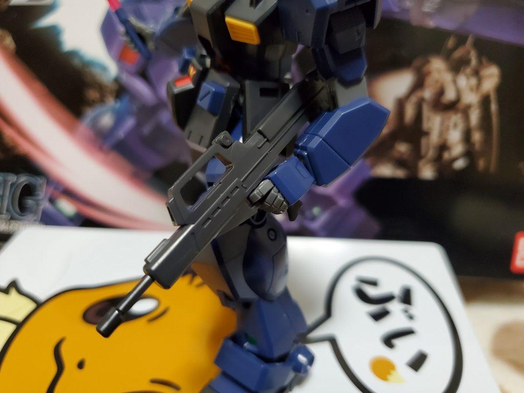 HGUC RGM-79Q ジム・クゥエル アピールショット3