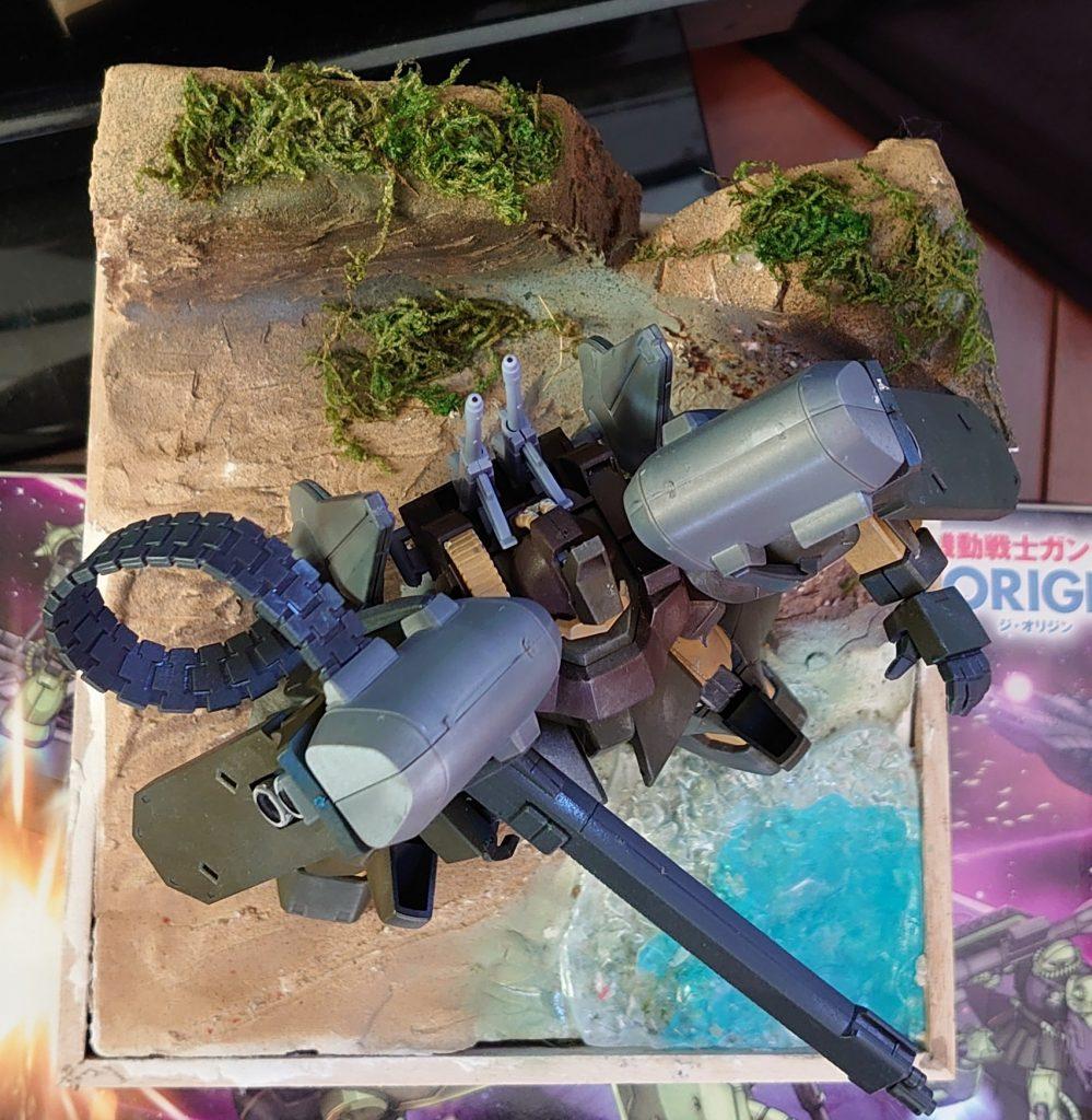 ゼク ディアス:拠点防衛火力強化改修機 アピールショット2